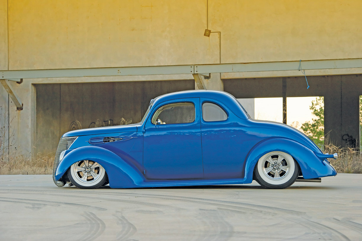 Snake Bit Jerry Hodges Slick 1937 Ford Coupe