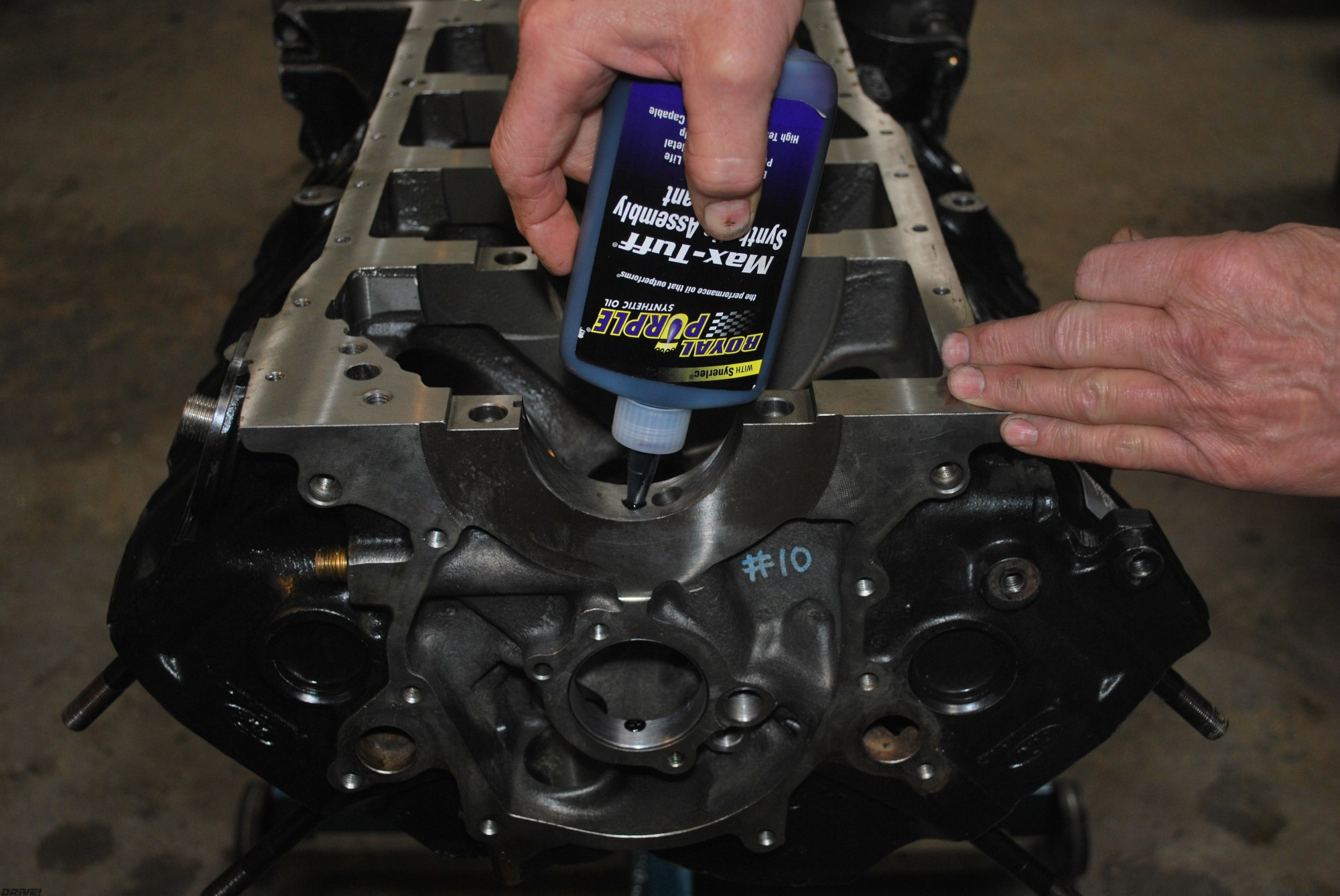 Blue Oval Power Building A Ford Racing 392 For Efi Performance Timing 351 Engine Mcp 1202 09 300x200