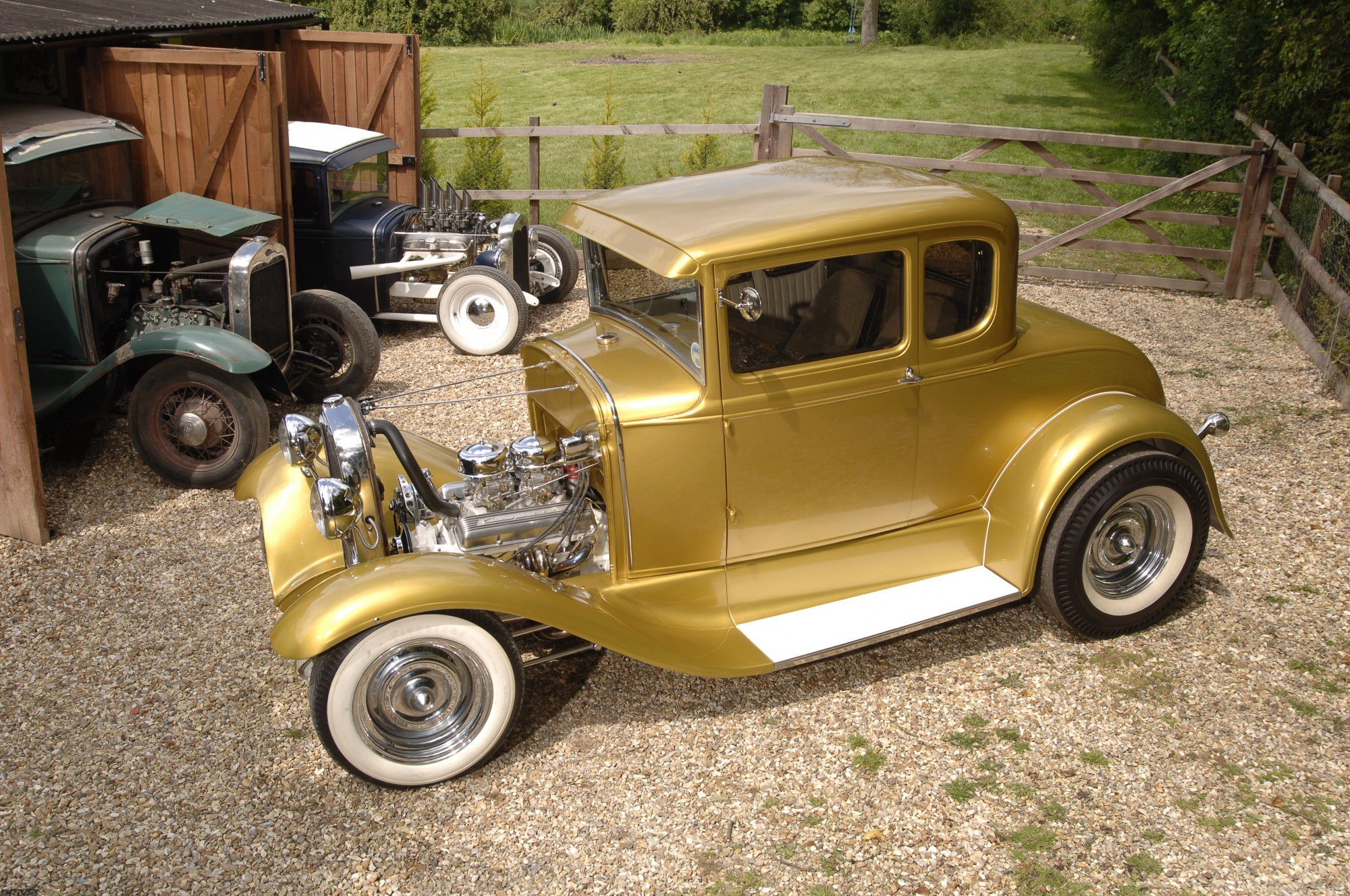 UK Model A: An American Hot Rod in England