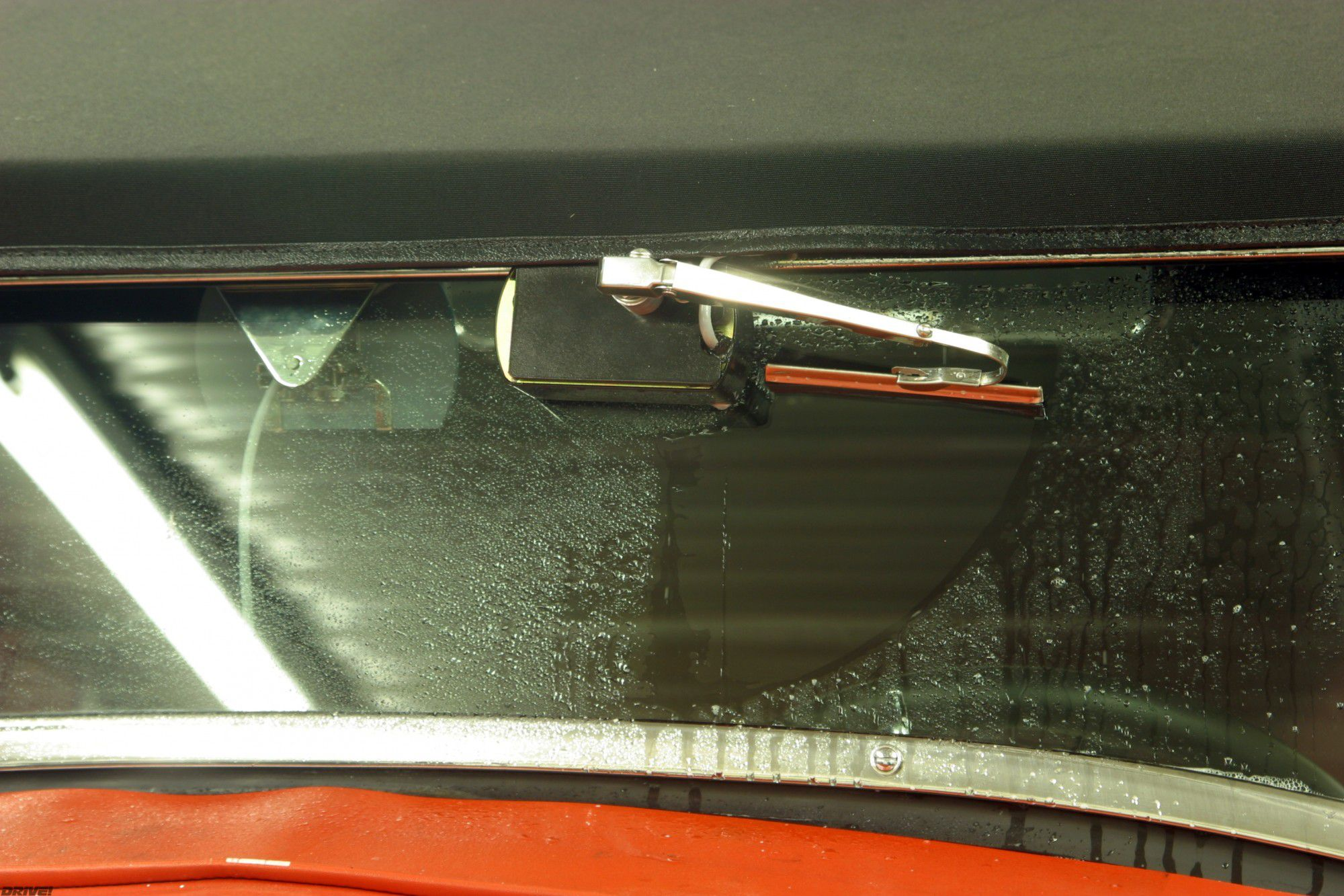 Removable Windshield Wipers For Roadsters When Rain X Isn