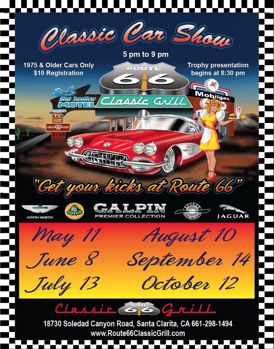 Route Classic Car Show - Route 66 car show